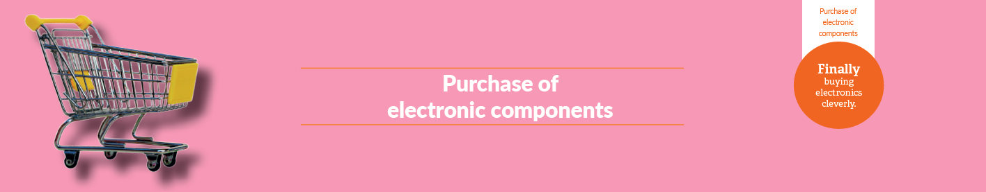 Purchase of electronic components