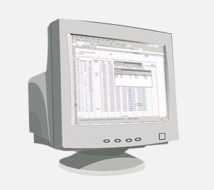 LCM Client OM Module Alter Bildschirm